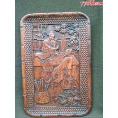 老木雕人物果盤(se77455748)_7788舊貨商城__七七八八商品交易平臺(7788.com)