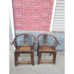 清末柳木圈椅一對,品相包漿一流,完整無松動,全品。(se77459101)_7788舊貨商城__七七八八商品交易平臺(7788.com)