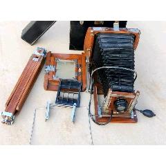 上海產老海鷗牌三足室外木制照相機一套品相一流正常使用牢固包老(se77462396)_7788舊貨商城__七七八八商品交易平臺(7788.com)