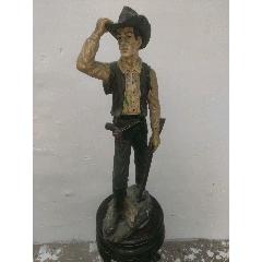 塑脂雕塑西部牛仔(se77491673)_7788舊貨商城__七七八八商品交易平臺(7788.com)