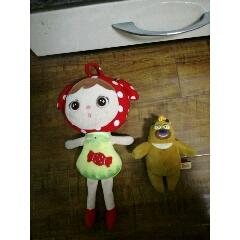 毛絨玩具2個(se77498550)_7788舊貨商城__七七八八商品交易平臺(7788.com)
