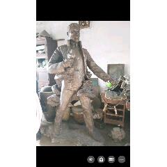 安重根塑像,高約1米8.(se77554628)_7788舊貨商城__七七八八商品交易平臺(7788.com)
