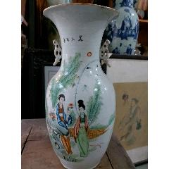 民國粉彩人物瓶(au25327297)_7788舊貨商城__七七八八商品交易平臺(7788.com)