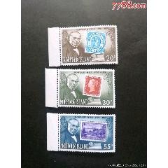 1979年諾??藣u第一枚郵票的發明者希爾與票中票郵票3全新(se77783319)_7788舊貨商城__七七八八商品交易平臺(7788.com)