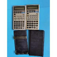 卡西歐計算器(日本產)2個合售(se77827604)_7788舊貨商城__七七八八商品交易平臺(7788.com)