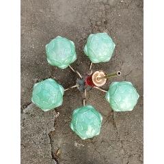 復古老式懷舊綠色玻璃吊燈(se77858900)_7788舊貨商城__七七八八商品交易平臺(7788.com)