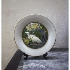 精美雅致的文革花鳥紋貝雕禮陵瓷盤(se77883653)_7788舊貨商城__七七八八商品交易平臺(7788.com)