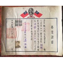 民國三十七年北京市華北中學畢業證(se77894528)_7788舊貨商城__七七八八商品交易平臺(7788.com)