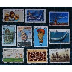 澳大利亞郵票------混合郵票一組10(信銷票)(se77906497)_7788舊貨商城__七七八八商品交易平臺(7788.com)