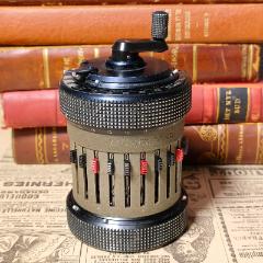 西洋古董機械微型袖珍加算器庫塔科塔CURTAⅡ型手搖計算器功能OK(se77976082)_7788舊貨商城__七七八八商品交易平臺(7788.com)