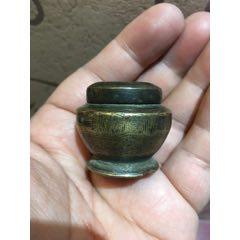 晚清煙膏小銅罐一件。(se78005464)_7788舊貨商城__七七八八商品交易平臺(7788.com)