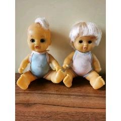老膠皮玩具娃娃一對(se78034299)_7788舊貨商城__七七八八商品交易平臺(7788.com)