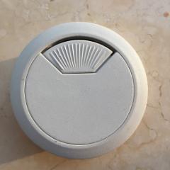 電腦穿線盒白色直徑5厘米2個新品(se78054569)_7788舊貨商城__七七八八商品交易平臺(7788.com)
