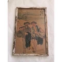 文革時期題材手繪玻璃畫(se78063681)_7788舊貨商城__七七八八商品交易平臺(7788.com)