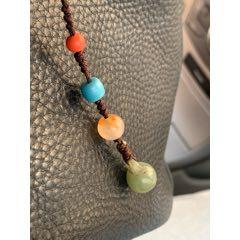 老珠子編的飾品,包掛,手機掛飾,兩個琉璃,一個瑪瑙,一個玉,都是老的。(se78074911)_7788舊貨商城__七七八八商品交易平臺(7788.com)