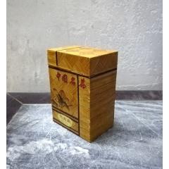 精美的八十年代竹編茶葉盒(se78080081)_7788舊貨商城__七七八八商品交易平臺(7788.com)