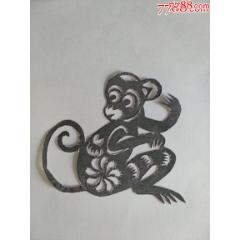 純手工老剪紙-——猴拳(se78096461)_7788舊貨商城__七七八八商品交易平臺(7788.com)