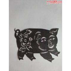 純手工老剪紙-——豬豬肥嘟嘟(se78096748)_7788舊貨商城__七七八八商品交易平臺(7788.com)