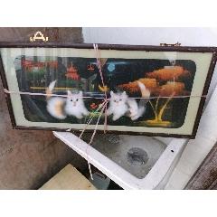 兩個小貓裝飾畫(se78101415)_7788舊貨商城__七七八八商品交易平臺(7788.com)