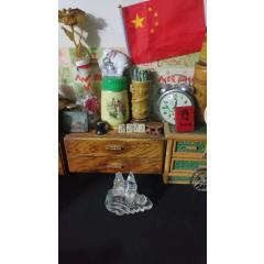 上世紀70-80年代老玻璃小鳥造型老擺件民俗懷舊老物品。(se78103933)_7788舊貨商城__七七八八商品交易平臺(7788.com)