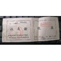 五十年代:《社員證》《股票》(se78113251)_7788舊貨商城__七七八八商品交易平臺(7788.com)