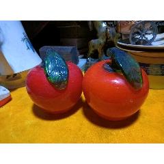 玻璃蘋果一對(se78114943)_7788舊貨商城__七七八八商品交易平臺(7788.com)