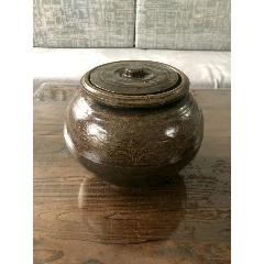 鄉下拆遷收來的民國時期的醬釉陶制蓋罐一件、(se78116802)_7788舊貨商城__七七八八商品交易平臺(7788.com)