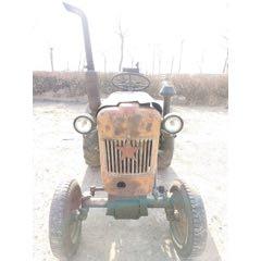 70年代洛陽產的東方紅牌手搖拖拉機,正常開動?。?!佳木斯農場收回來的(se78117570)_7788舊貨商城__七七八八商品交易平臺(7788.com)