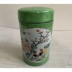 收到茶葉罐一個,瓷器,畫工(se78119290)_7788舊貨商城__七七八八商品交易平臺(7788.com)