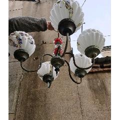 復古懷舊老玻璃吊燈(se78131503)_7788舊貨商城__七七八八商品交易平臺(7788.com)