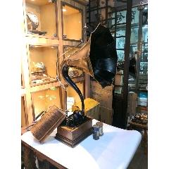 愛迪生留聲機西洋古董古董留聲機大喇叭手搖留聲機唱機愛迪生臘筒留聲機(se78149660)_7788舊貨商城__七七八八商品交易平臺(7788.com)