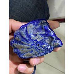 民國時期寶石藍瓷水滴鳳凰圖案(se78153715)_7788舊貨商城__七七八八商品交易平臺(7788.com)
