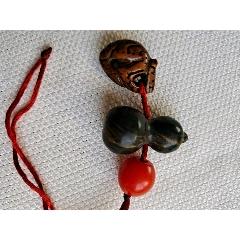 這三個都是老雕件第一個是用桃湖雕刻的小小老鼠第二個是牛角雕刻的寶胡簍第三個是老琉(se78158563)_7788舊貨商城__七七八八商品交易平臺(7788.com)