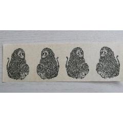 猴票雕刻版印樣4猴一張(se78169248)_7788舊貨商城__七七八八商品交易平臺(7788.com)