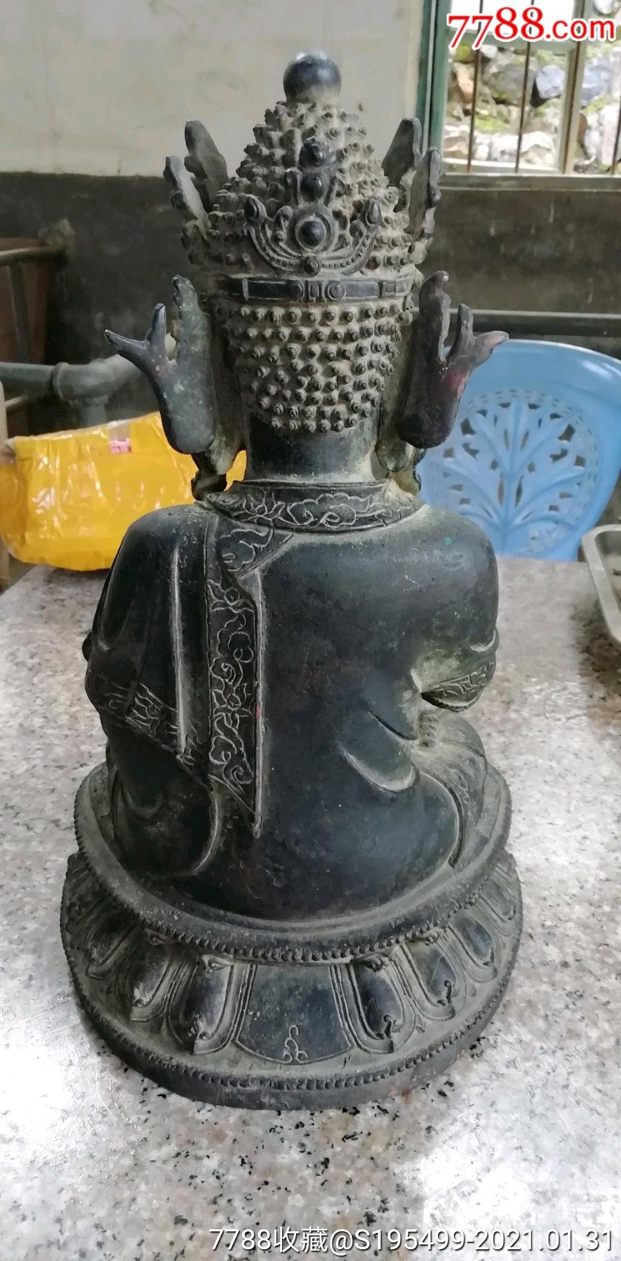 古董铜佛像_价格9500元_第11张_7788收藏__收藏热线