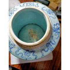 民國青花二龍戲珠茶葉罐尺寸高18-16-8.5(se78181261)_7788舊貨商城__七七八八商品交易平臺(7788.com)