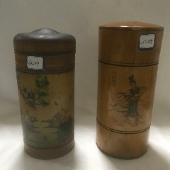 手繪木茶葉罐1人物貼畫1個6588兩個總價總價(se78189718)_7788舊貨商城__七七八八商品交易平臺(7788.com)
