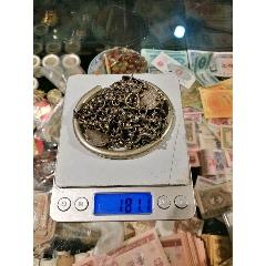 〈銀鏈子〉〈銀手鐲〉合售共181克,品如圖。(se78213363)_7788舊貨商城__七七八八商品交易平臺(7788.com)