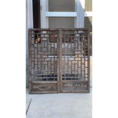 清代楠木窗一對。品相尺寸如圖,裝修裝飾佳品。(se78214127)_7788舊貨商城__七七八八商品交易平臺(7788.com)