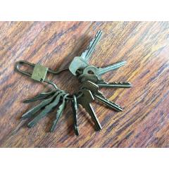 一串老鑰匙【有鑰匙扣】銅鑰匙(se78226417)_7788舊貨商城__七七八八商品交易平臺(7788.com)