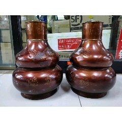 代友出售特大錫葫蘆罐一對(se78228493)_7788舊貨商城__七七八八商品交易平臺(7788.com)