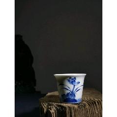 青花蓮花品茗杯主人杯(se78232031)_7788舊貨商城__七七八八商品交易平臺(7788.com)