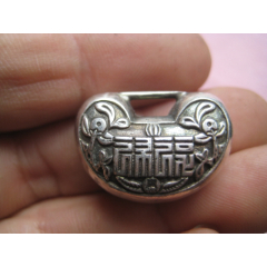一把漂亮雕刻精美的迷你型福祿銀掛鎖,(se78234547)_7788舊貨商城__七七八八商品交易平臺(7788.com)