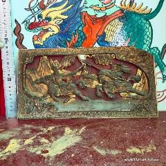 古董古玩收藏品老木雕人物花板,一個角小傷,被香火熏蒸的老氣(se78240869)_7788舊貨商城__七七八八商品交易平臺(7788.com)