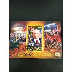 2012年科特迪瓦列寧誕生紀念列寧像和國旗及游行群眾等小型張蓋銷(se78245221)_7788舊貨商城__七七八八商品交易平臺(7788.com)