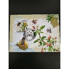 2009年幾內亞比紹海棠花和蜜蜂小型張蓋銷(se78245297)_7788舊貨商城__七七八八商品交易平臺(7788.com)