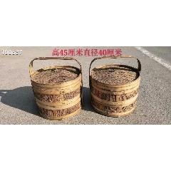 竹編食盒一對,完整包老,正常使用(se78245451)_7788舊貨商城__七七八八商品交易平臺(7788.com)