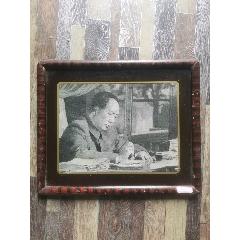 毛主席東方紅刺繡(原框)約23*18(se78245629)_7788舊貨商城__七七八八商品交易平臺(7788.com)