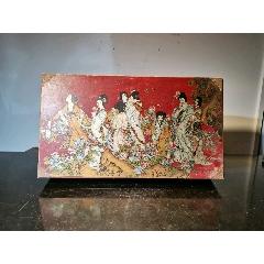 彩繪貼皮工藝盒子(se78246489)_7788舊貨商城__七七八八商品交易平臺(7788.com)