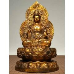 W1900高29厘米重5.5斤的鎏金銅佛像(se78259069)_7788舊貨商城__七七八八商品交易平臺(7788.com)